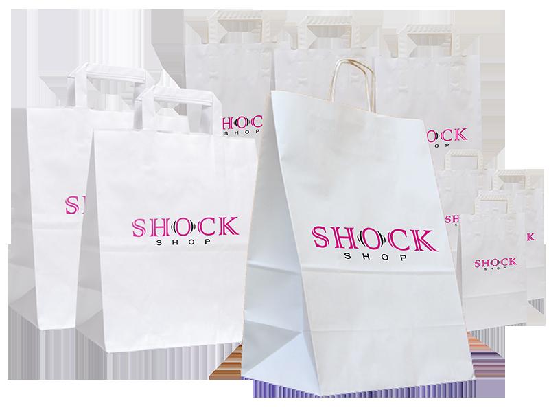 f2d75c4472 Papierové tašky s potlačou - Lacnotlac.sk